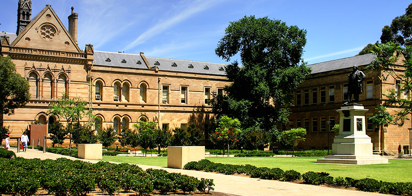 阿得雷德大学 ( University of Adelaide )